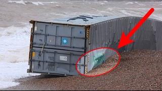 Video Tiba2 ada Kontainer terdampar di pantai, begitu dibuka isinya bikin semua berebut MP3, 3GP, MP4, WEBM, AVI, FLV Oktober 2017