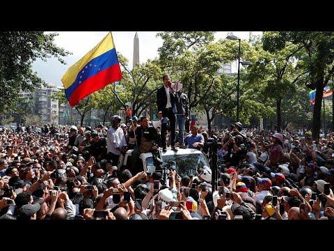 Kρίση στη Βενεζουέλα: Διεθνείς αντιδράσεις
