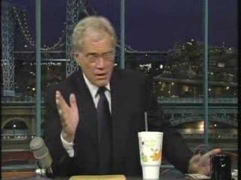 Jamba on Letterman April 25, 2008