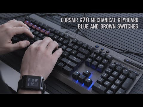 overview - Price & Specs: https://teksyndicate.com/videos/corsair-vengeance-k70-cherry-mx-blue-brown-switches-overview Music: http://bit.ly/Trk2ik, Merch: http://epicpa...