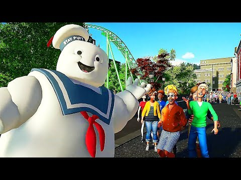 PLANET COASTER GHOSTBUSTERS Trailer (2019)