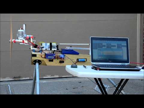 DA-60 PC-Controlled Thrust Test by RC Sport Flyer