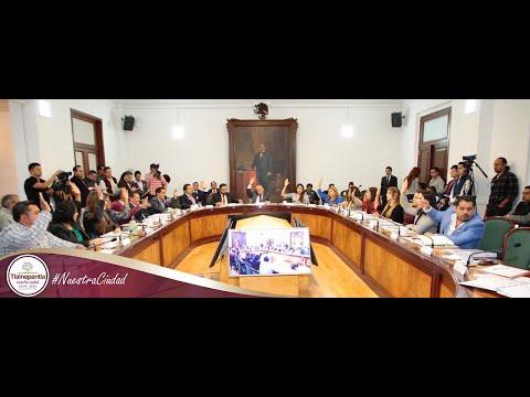 Cabildo H. Ayuntamiento de Tlalnepantla de Baz 16 de octubre del 2019