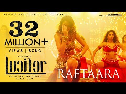 Lucifer Video Song | Raftaara | Mohanlal | Prithviraj | Deepak Dev | Jyotsna | Waluscha De Sousa