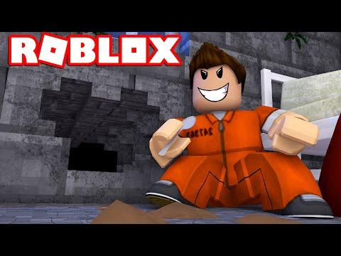 GRAVER OS UD AF FÆNGLSET! - Roblox Prison Escape Simulator