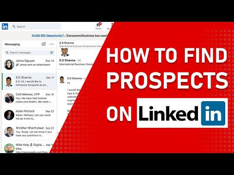 How to Effectively Use LinkedIn as a Sales Prospecting Tool