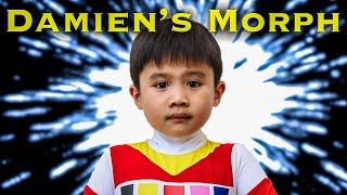 Red Space Ranger Kid [Power Rangers Morph]