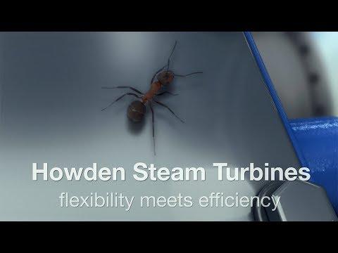 Howden industrial steam turbines