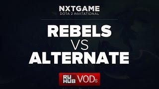 Rebels vs Alternate Attax, game 1