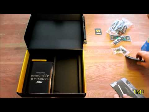 MSI Z97 Mpower & intel i7 4790k unboxing!