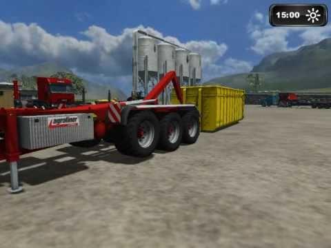 Landwirtschafts Simulator 2011 Kröger Rollcontainer Teil 1  TOP MODS