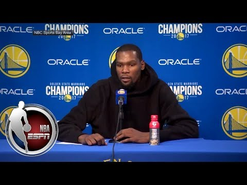 Video: Kevin Durant says ref looked for excuses to tech him up | NBA on ESPN