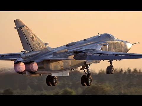 The Sukhoi Su-24 (NATO reporting...