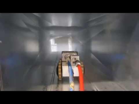 LIFA AIR – Revestimiento para desinfección con robot DuctControl Mini