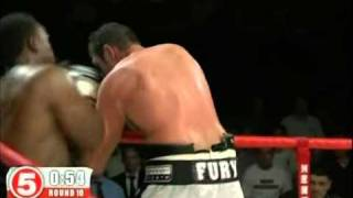 Fury Vs Chisora  Round 10 - One of UK rounds of the Year 2011