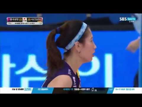kim su-ji ( 김수지 )  in Korea Volleyball League - Thời lượng: 4 phút và 13 giây.