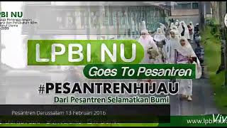 LPBI NU Goes to Pesantren #PESANTRENHIJAU