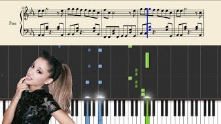 Ariana Grande - Dangerous Woman - Piano Tutorial + Sheets