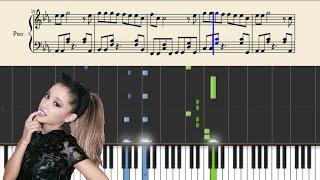 Ariana Grande - Dangerous Woman - Piano Tutorial + Sheets