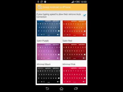 Video of Emoji keyboard for Android