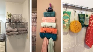 22 Super Clever Bathroom Storage Hacks