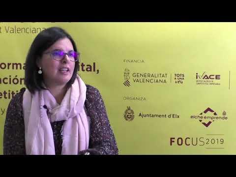 Teresa García, Directora General de Economía, Emprendimiento y cooperativismo en Focus Pyme CV 2019