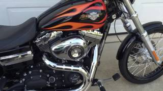 2. 2012 Harley Davidson Dyna Wide Glide