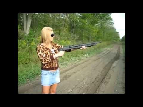 Girls and guns - funny hilarious