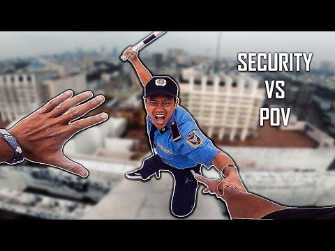 CHẠY ĐI ĐỪNG SỢ   Parkour POV Escape From Vietnam Security   Bảo Upin & Trung Khôn
