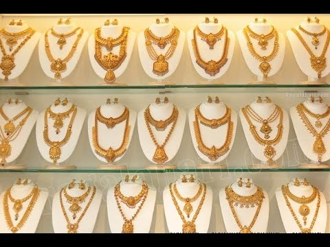 Latest South indian Gold Haram Jewellery Designs!!!!_Bridal collections!