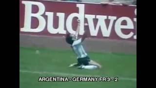 Video Final Piala Dunia 1986 Argentina vs Germany FR MP3, 3GP, MP4, WEBM, AVI, FLV November 2017