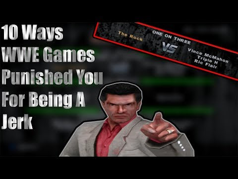 10 Ways WWE Games Punished You For Being A Jerk