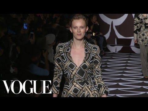 Diane von Furstenberg Fall 2014 Ready-to-Wear – Fashion Show – Style.com