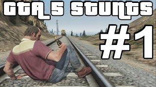 GTA 5 Stunts #1 (GTA V Crashes, Deaths, Fails and more)