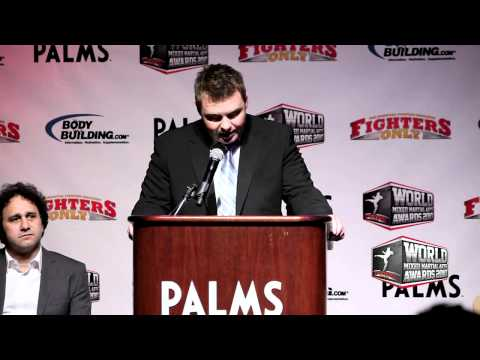 2010 World MMA Awards Press Conference