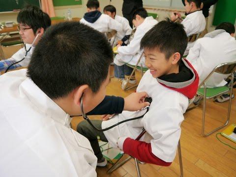 子ども達に伝えたい医療の仕事 福岡市立千代小学校