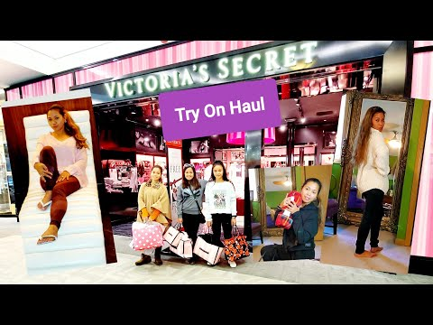 My FIRST Try On Haul Video (Quick) | Victoria Secret/ Pink Black Friday | Women Trucking Outfit 😁☺️
