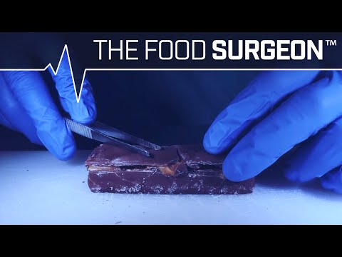 Implanting A Milky Way Candy Bar With Peanuts