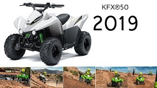10. KAWASAKI KFX50 2019