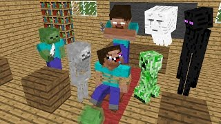 Monster School : MOB vs Noob - Minecraft AnimationI'm sorry for Upload again due to music copyright issuePlease Like, Share, Subscribe!Songs by Kevin MacLeod is under the Lizenz Creative Commons Attribution license (https://creativecommons.org/licenses/...) licensed.Artist : http://incompetech.com/