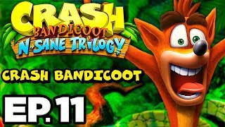 Crash Bandicoot Ep.11 - CAN I GET PERFECT ON EVERY LEVEL? (N. Sane Trilogy Gameplay / Let's Play)