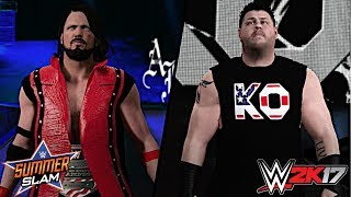 After Owens was screwed in the United States Championship match on SmackDown Live, SmackDown Live Commissioner announced that AJ Styles will once again defend the United States Title against Kevin Owens but with Shane McMahon as the Special Guest Referee! In the video, it is just a regular referee since having Shane as the ref is impossible.Show some love by leaving a like, sharing and subscribing for more awesome videos like these!OUTRO MUSIC: Undertaker's Rollin Theme Cover by JAYDEGARROWJAYDEGARROW's YouTube: https://www.youtube.com/channel/UCit4zHRRYaU5Og8ZHqvA7jQFOLLOW ME HERE:Facebook: https://www.facebook.com/julian.rosado.14Twitter: https://twitter.com/Jules1451Instagram: https://www.instagram.com/jules1451/Snapchat: @Jules1451Want to see more WWE 2K16 & WWE 2K17 Content? Visit this link for more! http://www.thesmackdownhotel.com