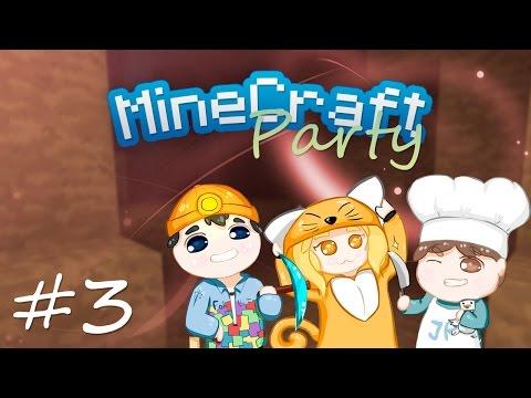 MineCraft Party | Немного упоротости и пещера... #3