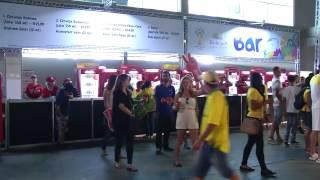 VÍDEO: Torcedores lotam FIFA Fan Fest em Minas para ver o segundo jogo do Brasil na Copa