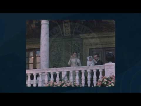 Proclamation solennelle de la naissance du Prince Héréditaire Albert et présentation aux monégasques
