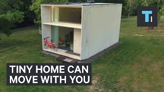 Download Youtube: This tiny home can move with you