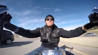 8. 2009 Harley-Davidson Softail Custom FXSTC with GoPro