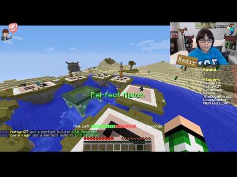 Minecraft Speed Builders Tamda Havaya Girmiştim - BKT