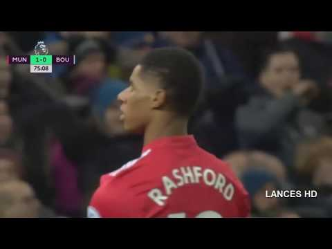Manchester United vs Bournemouth 1-0  - All Goals & Highlights 13/12/2017