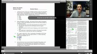 How To Use The Learning Management System (College Tax School)